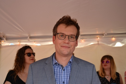John Green at Paper Towns Indianapolis Event.