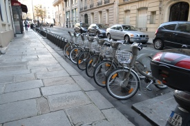 Streets of the 6th arrondissement in Paris.
