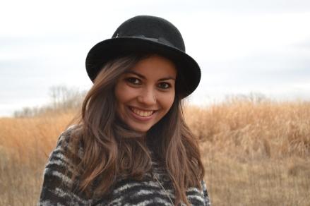 Jane Potocki in spring 2014 photoshoot.