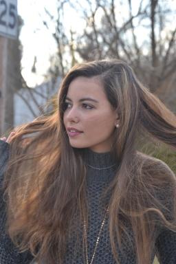 Jane Potocki in spring 2016 fashion shoot.